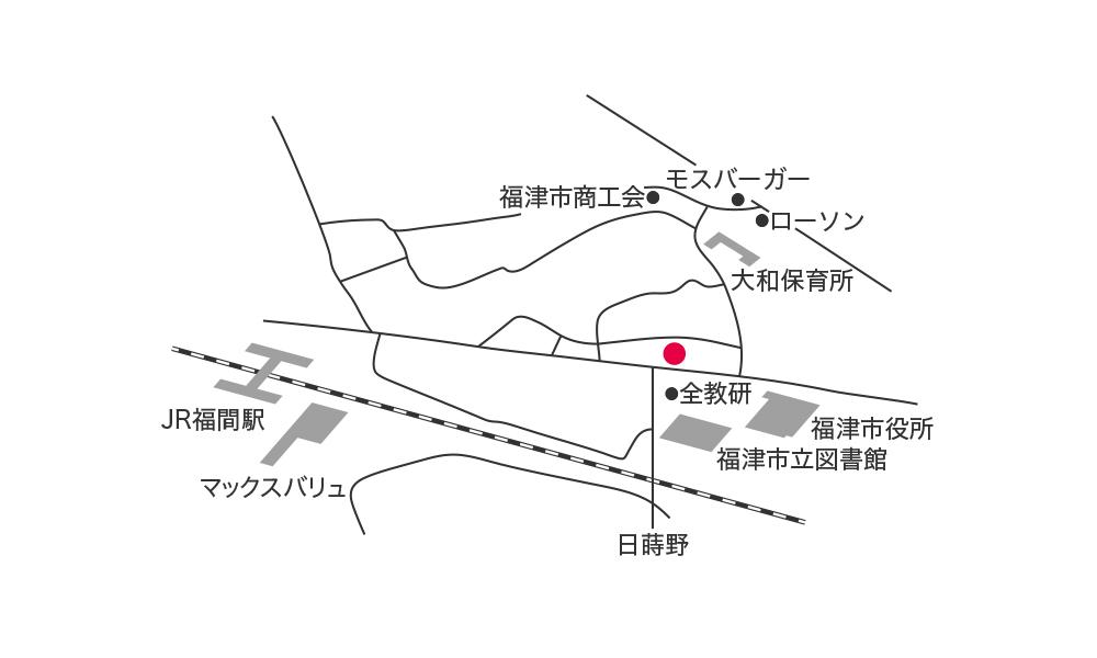 福津花屋地図経路
